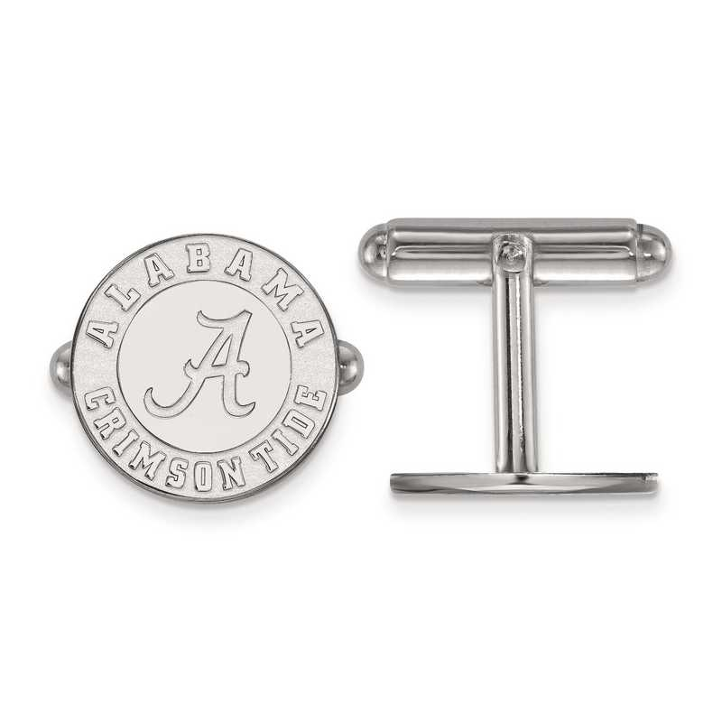 SS052UAL: SS LogoArt University of Alabama Cuff Link