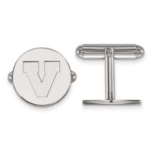 SS052UVA: SS LogoArt University of Virginia Cuff Link