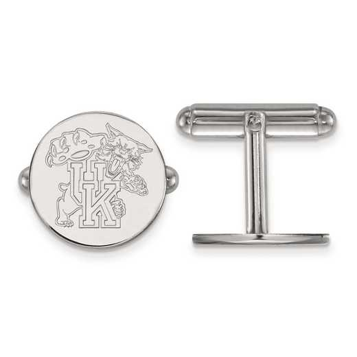 SS053UK: SS LogoArt University of Kentucky Cuff Link