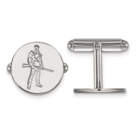 SS056WVU: SS LogoArt West Virginia University Cuff Link
