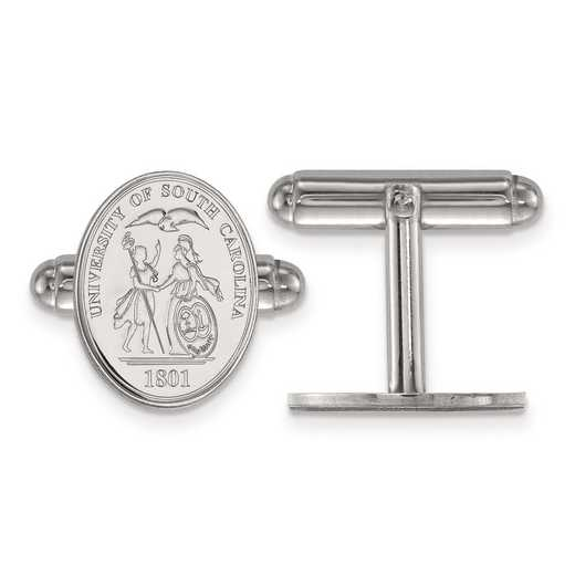 SS067USO: SS LogoArt University of South Carolina Crest Cuff Link