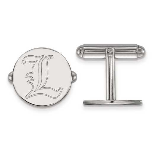 SS068UL: SS LogoArt University of Louisville Cuff Link