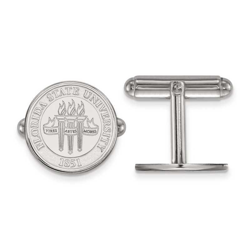 SS080FSU: SS LogoArt Florida State University Crest Cuff Link