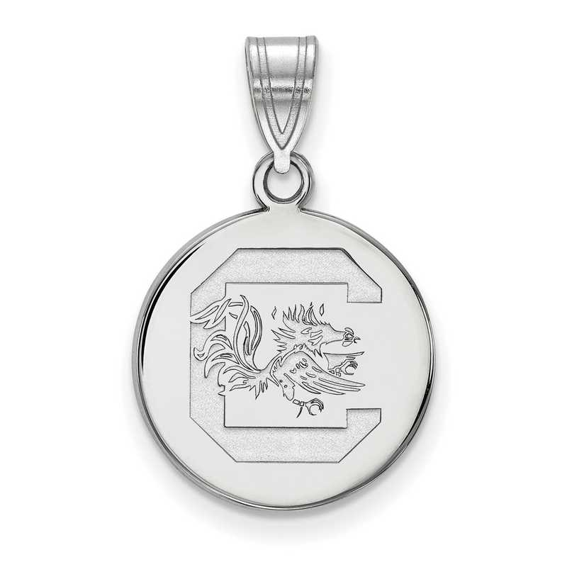 Beautiful Sterling silver 925 sterling Sterling Silver LogoArt North Carolina State U Enameled Logo Bead
