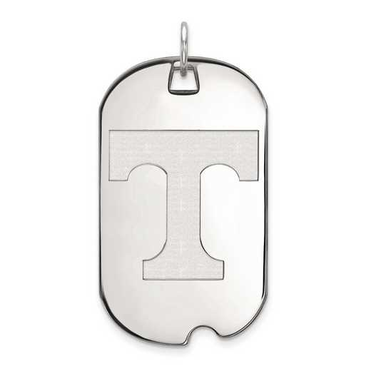 1W028UTN: 10kw LogoArt University of Tennessee Large Dog Tag
