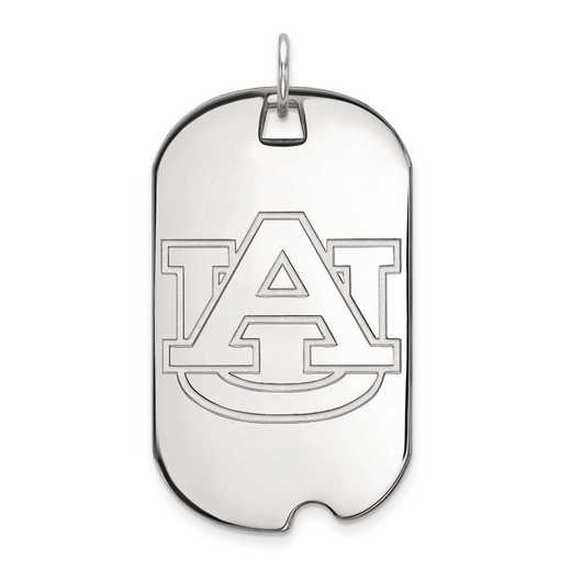 4W028AU: 14kw LogoArt Auburn University Large Dog Tag