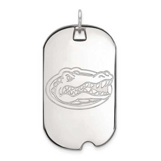 4W028UFL: 14kw LogoArt University of Florida Large Dog Tag