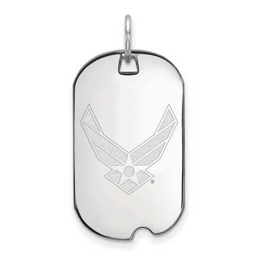 SS023USAF: SS LogoArt U.S. Air Force Academy Small Dog Tag