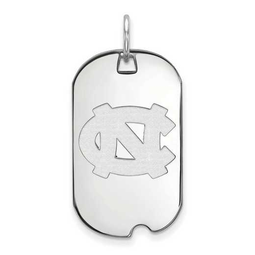 SS024UNC: SS LogoArt University of North Carolina Small Dog Tag