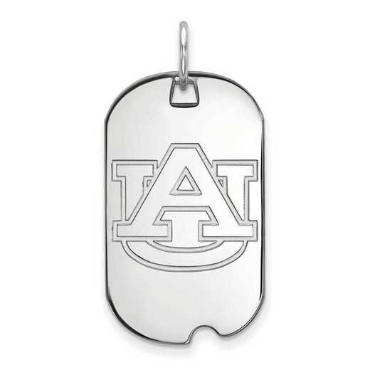SS027AU: SS LogoArt Auburn University Small Dog Tag