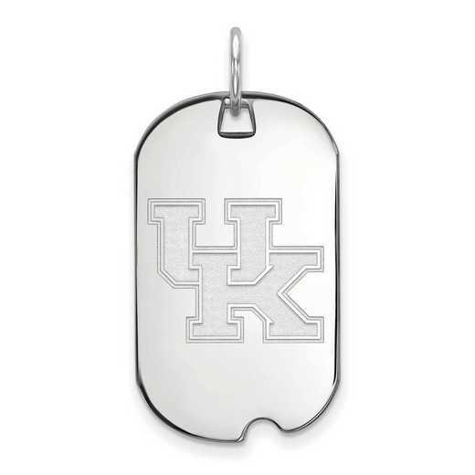 SS027UK: SS LogoArt University of Kentucky Small Dog Tag