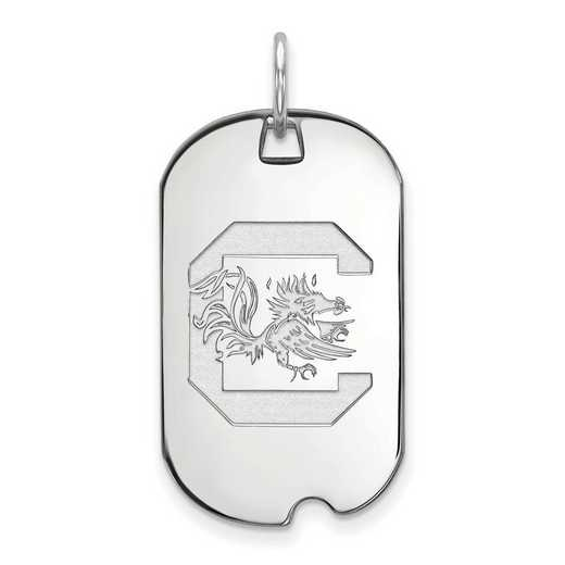 SS027USO: SS LogoArt University of South Carolina Small Dog Tag
