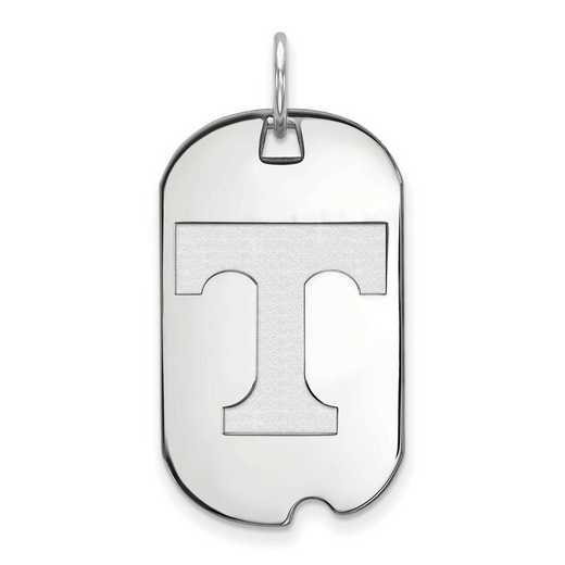 SS027UTN: SS LogoArt University of Tennessee Small Dog Tag