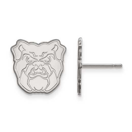 1W004BUT: 10kw LogoArt Butler University Small Post Earrings