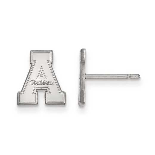 1W007APS: 10kw LogoArt Appalachian State University XS Post Earrings