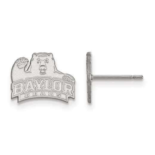 1W007BU: 10kw LogoArt Baylor University XS Post Earrings