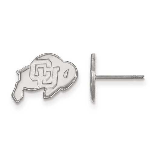 1W007UCO: 10kw LogoArt University of Colorado XS Post Earrings