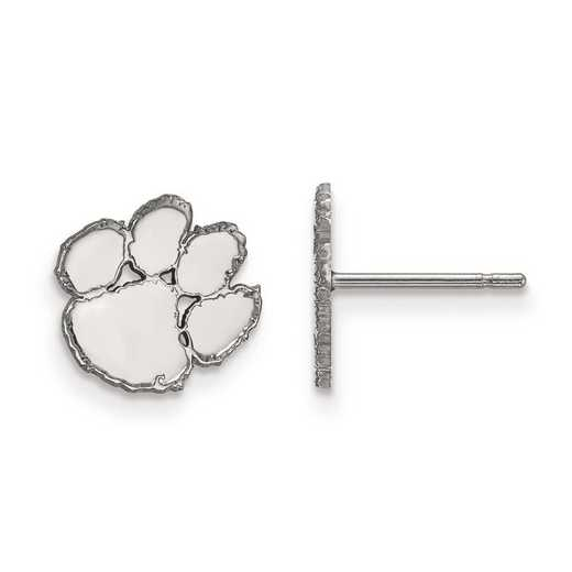 1W008CU: 10kw LogoArt Clemson University XS Post Earrings