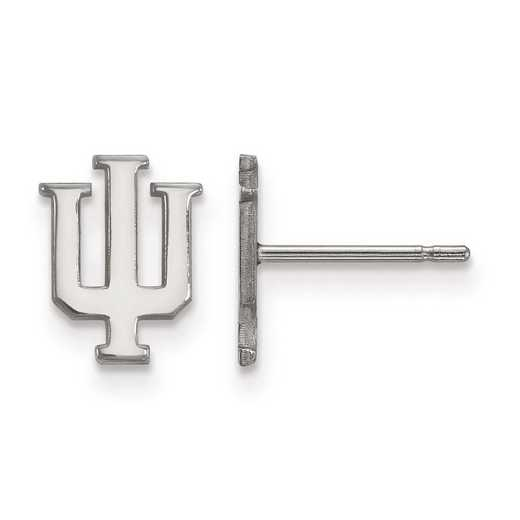 1W008IU: 10kw LogoArt Indiana University XS Post Earrings