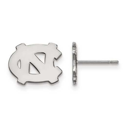 1W008UNC: 10kw LogoArt University of North Carolina XS Post Earrings