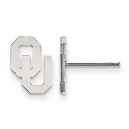 1W008UOK: 10kw LogoArt University of Oklahoma XS Post Earrings