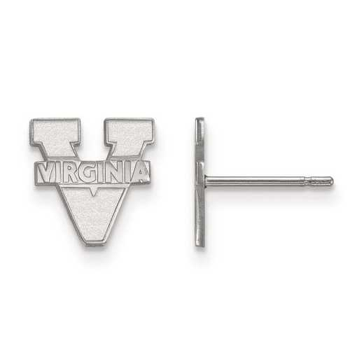 1W008UVA: 10kw LogoArt University of Virginia XS Post Earrings
