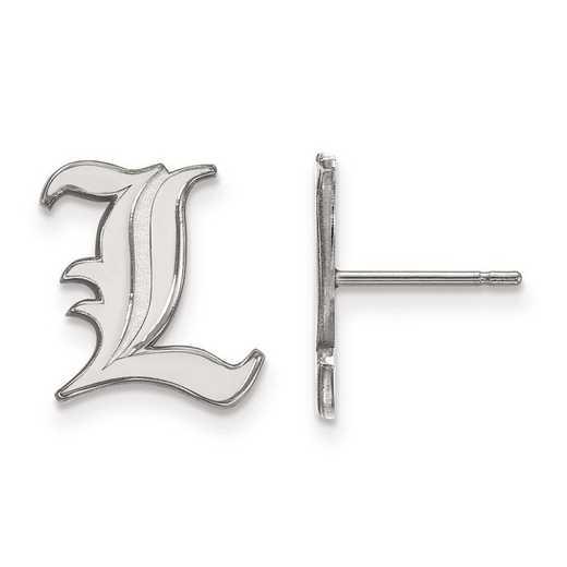 1W009UL: 10kw LogoArt University of Louisville Small Post Earrings