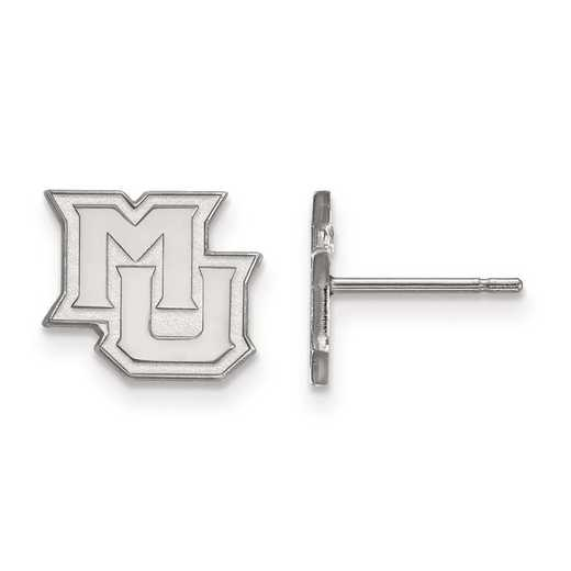 1W018MAR: 10kw LogoArt Marquette University XS Post Earrings
