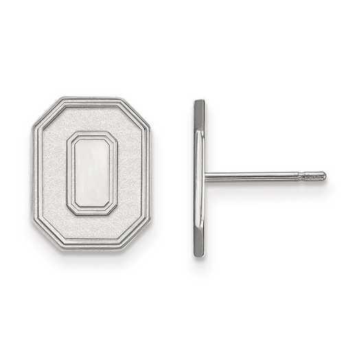 1W052OSU: 10kw LogoArt Ohio State University Small Post Earrings