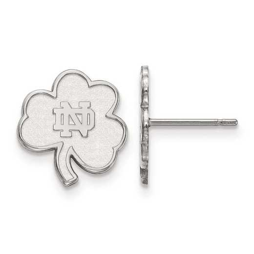 1W065UND: 10kw LogoArt University of Notre Dame XS Post Earring
