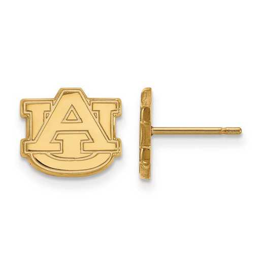 1Y008AU: 10ky LogoArt Auburn University XS Post Earrings
