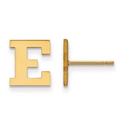 1Y021EMU: 10ky LogoArt Eastern Michigan University XS Post Earrings