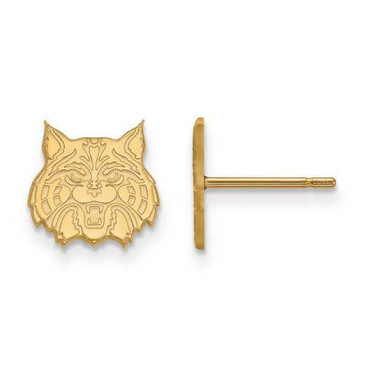 1Y030UAZ: 10ky LogoArt University of Arizona XS Post Earrings