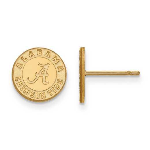 1Y049UAL: 10ky LogoArt University of Alabama XS Post Earrings