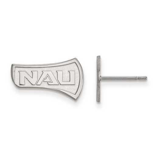 4W004NAU: 14kw LogoArt Northern Arizona University Small Post Earrings