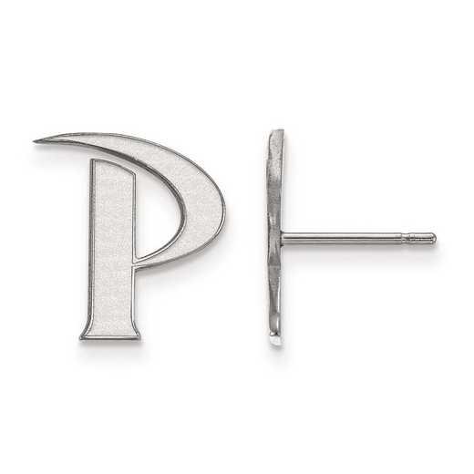 4W004PEU: 14kw LogoArt Pepperdine University Small Post Earrings