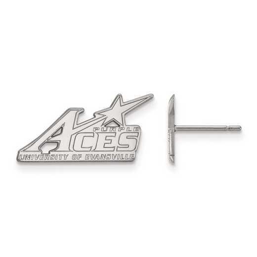4W004UEV: 14kw LogoArt University of Evansville Small Post Earrings