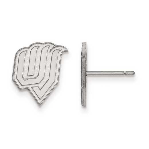 4W004UVS: 14kw LogoArt Utah Valley State Small Post Earrings