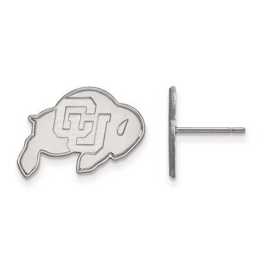 4W008UCO: 14kw LogoArt University of Colorado Small Post Earrings