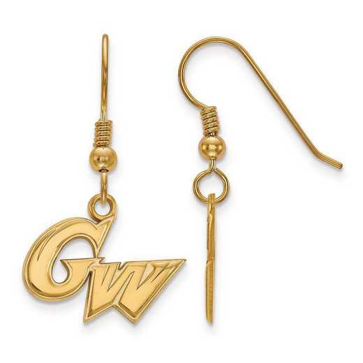 GP003GWU: SS GP LogoArt The George Washington U Small Dangle Earrings