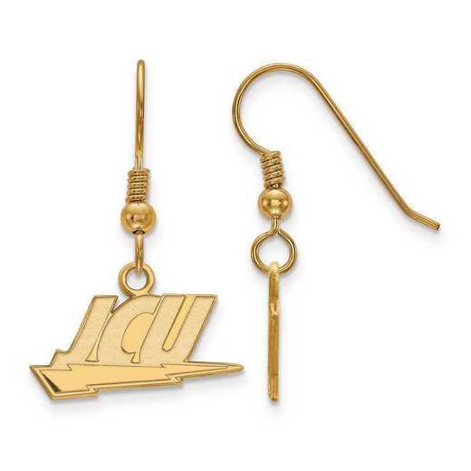 GP003JCU: SS GP LogoArt John Carroll University Small Dangle Earrings