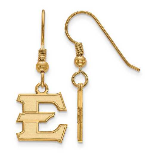 GP006ETS: GP SS East Tennessee State Univ Small Dangle Earring Wire