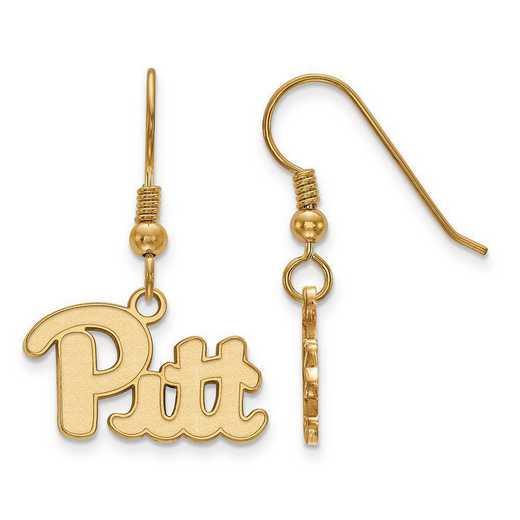 GP007UPI: SS GP LogoArt University of Pittsburgh Small Dangle Earrings