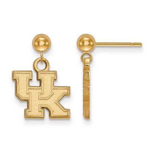 GP010UK: SS GP LogoArt University of Kentucky Earrings Dangle Ball