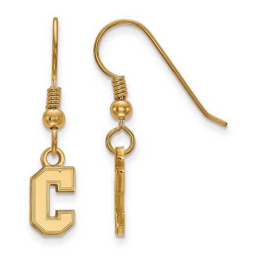 GP014CHC: SS GP LogoArt College of Charleston XS Dangle Earrings