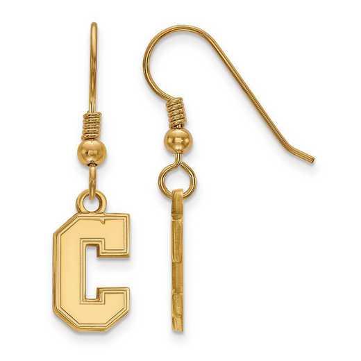 GP015CHC: SS GP LogoArt College of Charleston Small Dangle Earrings
