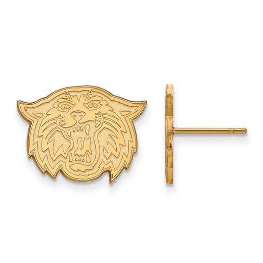 GP036VIL: SS GP LogoArt Villanova University Small Post Earrings