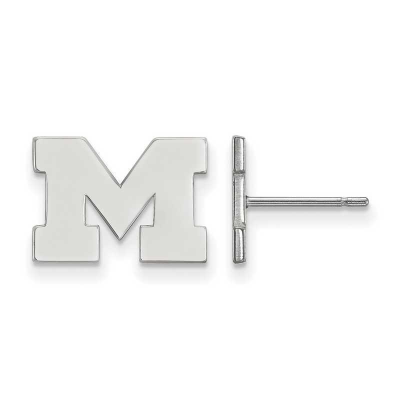 SS008UM: 925 Michigan XS Post Earrings