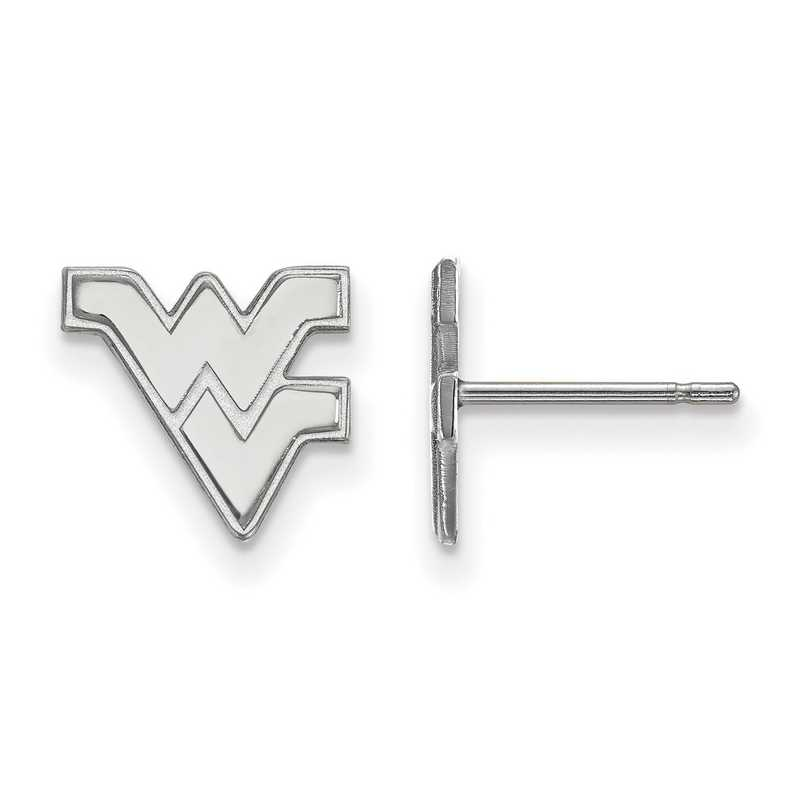 SS008WVU: 925 West Virginia XS Post Earrings