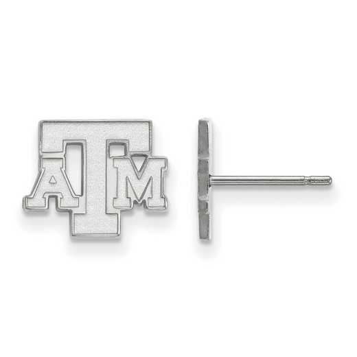 SS074TAM: 925 Texas A&M XS Post Earrings